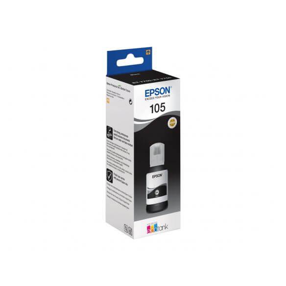 Consommable Epson 105 - noir - originale - réservoir d'encre