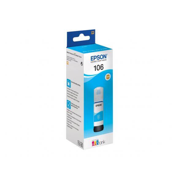 Consommable Epson 106 - cyan - originale - réservoir d'encre