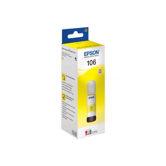 Consommable Epson 106 - jaune - originale - réservoir d'encre