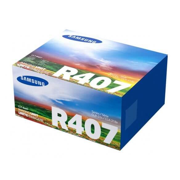 Samsung CLT-R407 - noir, jaune, cyan, magenta - unité de mise en image de l'imprimante