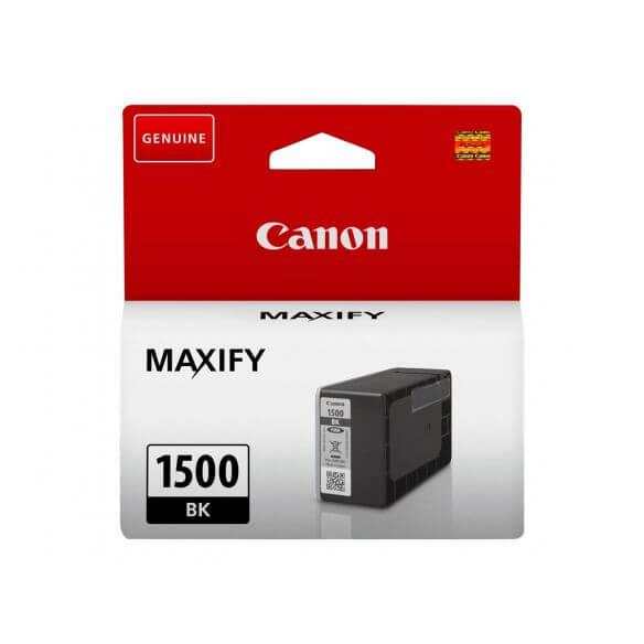 Consommable Canon PGI-1500 BK - noir - originale - réservoir d'encre
