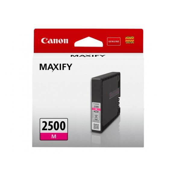 Consommable Canon PGI-2500M - magenta - originale - réservoir d'encre