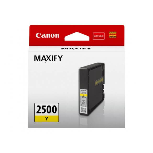 Consommable Canon PGI-2500 Y - jaune - originale - réservoir d'encre