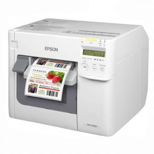 Imprimante Epson TM C3500 - Imprimante d'étiquettes - couleur - jet d'encre - 112 mm (lar