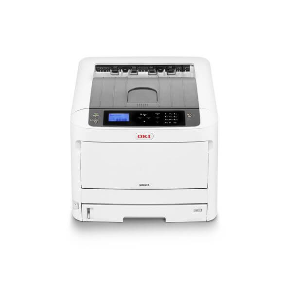 Imprimante laser couleur A3 OKI C824N (photo)