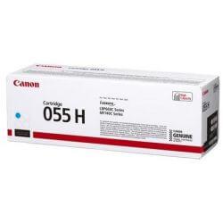 Canon 055H Cartouche de toner Haute capacité Cyan 5900 pages