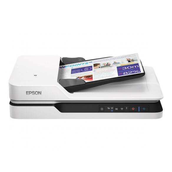 Epson WorkForce DS-1660W - scanner de documents - modèle bureau - USB 3.0, Wi-Fi(n)
