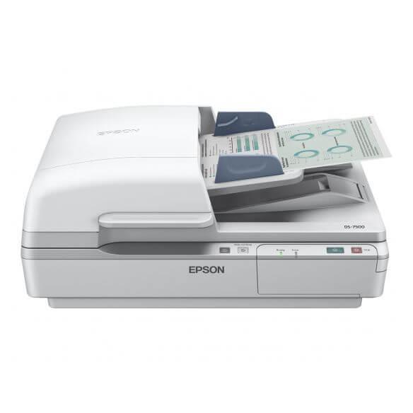 Epson WorkForce DS-6500 - scanner de documents - modèle bureau - USB 2.0