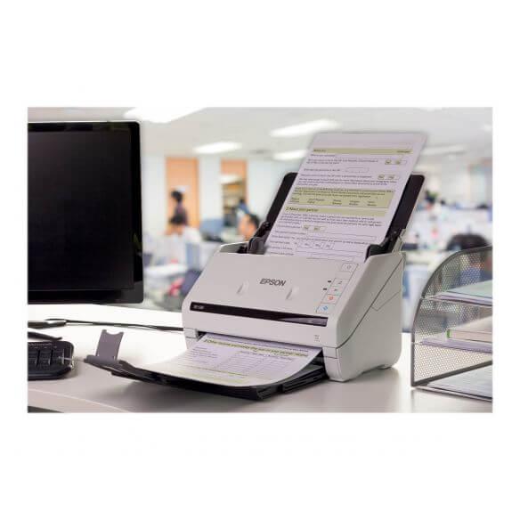 Epson WorkForce DS-570W - scanner de documents - modèle bureau - USB 3.0, Gigabit LAN, Wi-Fi