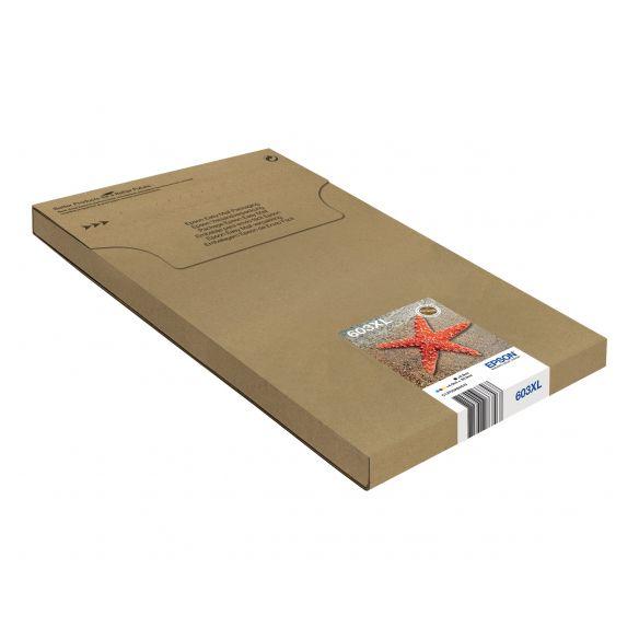 Epson 603XL Multipack Easy Mail Packaging pack de 4 - XL - noir, jaune, cyan, magenta cartouche d'encre d'origine
