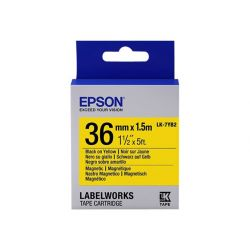 Epson LabelWorks LK-7YB2 - étiquettes magnétiques - 1 rouleau(x) - Rouleau (3,6 cm x 1,5 m)