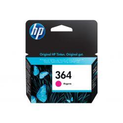 HP 364 - magenta - encre à colorants - originale - cartouche d'encre