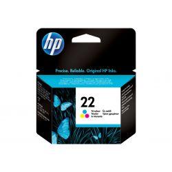 HP 22 - couleur (cyan, magenta, jaune) - originale - cartouche d'encre
