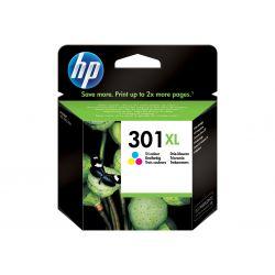 HP 301XL - à rendement élevé - tricolore à base de colorant - originale - cartouche d'encre