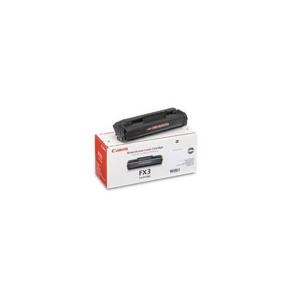 Consommable Canon FX-3 Cartouche de toner noir 2700 pages