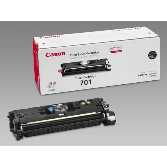Canon 701 BK Cartouche de toner Noir 4000 pages  LPB-5200 (photo)