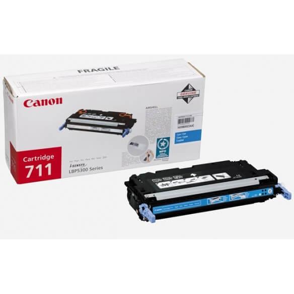 Consommable Canon 711 C Cartouche de toner Cyan 6000 pages pou...