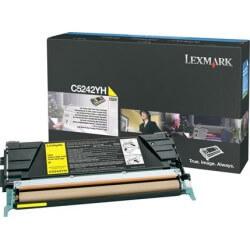 Lexmark Jaune Haute Capacite cartouche de toner pour C524