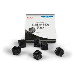 Xerox 6 bâtonnets d'encre solide noir Phaser 8400