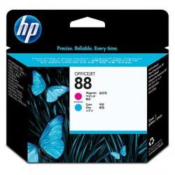 HP Tête d'impression Officejet cyan et magenta 88