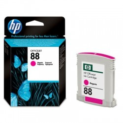 HP Cartouche d'encre Officejet magenta HP 88