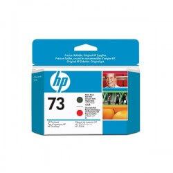 HP Tête d'impression rouge chromatique et noir mat HP73