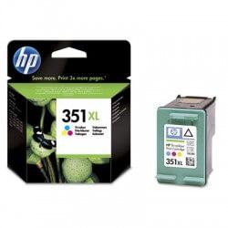 HP 351XL Cartouches d'encre noir/3 couleurs