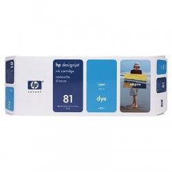 HP Cartouche d'encre cyan n°81 680-ml
