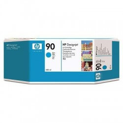 HP Cartouche d'encre cyan 90400-ml