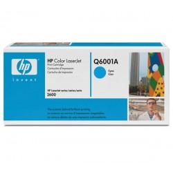 HP Q6001A Cartouche de toner LaserJet124A Cyan 2000 pages