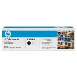 HP CB540A Cartouche de toner LaserJet125A Noir 2200 pages