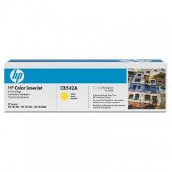 HP CB542A Cartouche de toner LaserJet125A Jaune 1400 pages