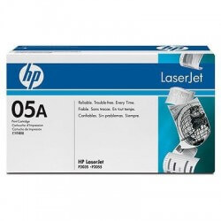HP CE505A Cartouche de toner LaserJet05A Noir 2300 pages