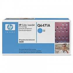 HP Q6471A Cartouche de toner Color LaserJet 502A Cyan 4000 pages
