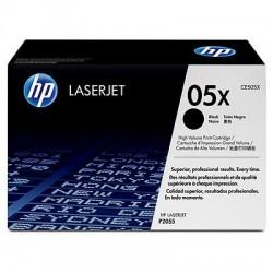 HP CE505XD Lot de 2 Cartouches de toner LaserJet 05X Noir 6500 pages