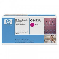 HP Q6473A Cartouche de Toner Color LaserJet 502A Magenta 4000 pages