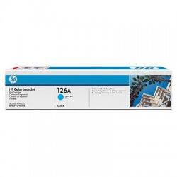 HP CE311A Cartouche de toner LaserJet126A Cyan 1000 pages