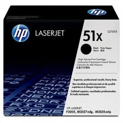 HP Q7551X Cartouche de toner LaserJet51X Noir 13000 pages