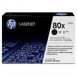 HP CF280X Cartouche de toner LaserJet80X Noir 6900 pages