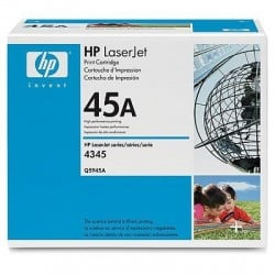 HP Q5945A Cartouche de toner LaserJet 45A Noir 18000 pages