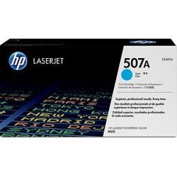 HP CE 401A Cartouche de toner cyan 507A LaserJet 6000 pages