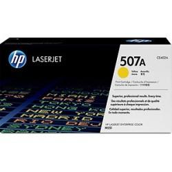 HP CE402A Cartouche de toner LaserJet 507A Jaune 6000 pages