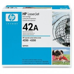HP Q5942A Cartouche de toner LaserJet42A Noir 10000 pages