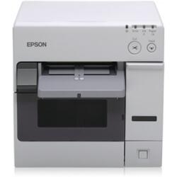 Epson TM C3400BK Imprimante d'étiquettes monochrome jet d'encre 112 mm (largeur ) USB