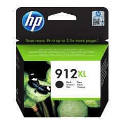 HP 912XL - à rendement élevé - noir cartouche d'encre d'origine
