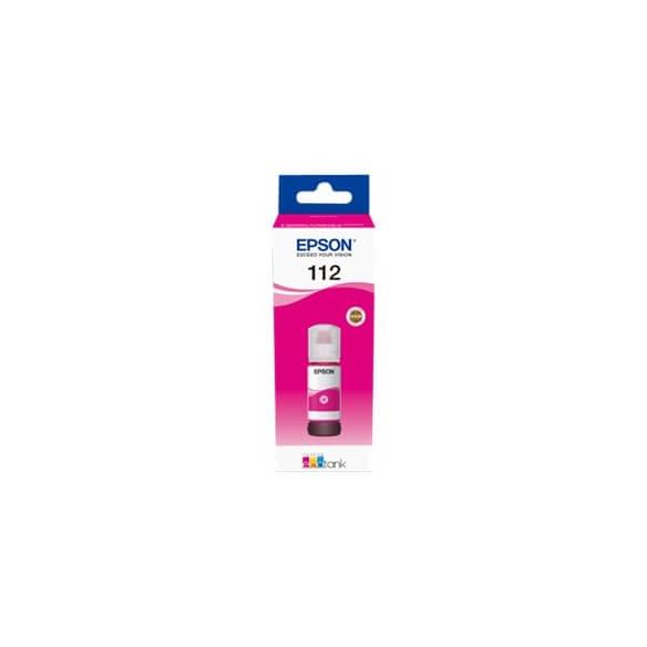 Flacon d'encre magenta série 112 Epson Ecotank (70 ml) d'origine