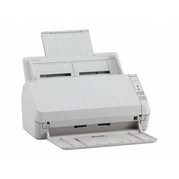 Fujitsu SP-1125N - scanner de documents - modèle bureau - Gigabit LAN, USB 3.2 Gen 1x1