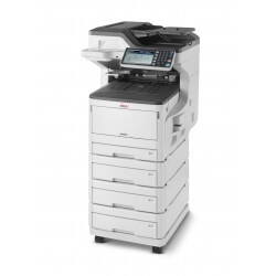 Photocopieur couleur professionnel OKI MC883 reseau recto verso automatique 4 magasins
