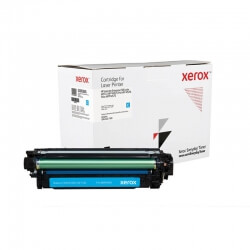 Cartouche de toner cyan Xerox Everyday pour imprimante LaserJet Enterprise 500 color M551, MFP M575, Pro MFP M570...