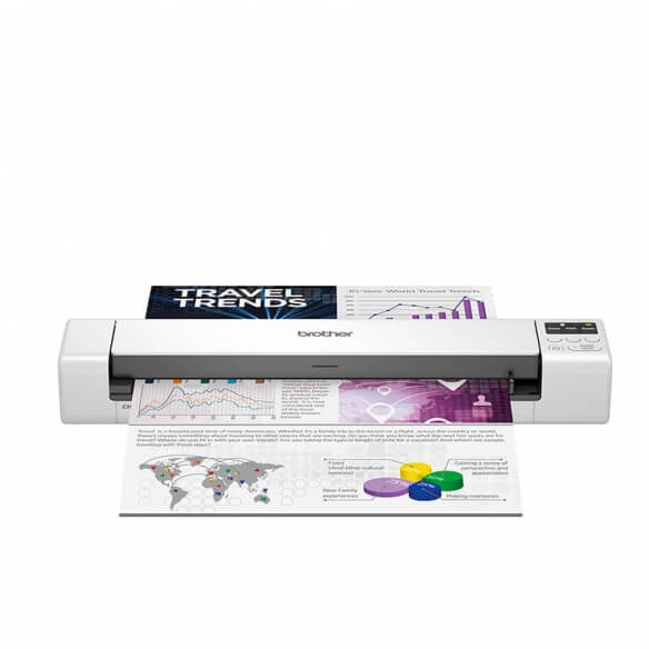 Scanner mobile de documents Brother DS-940DW